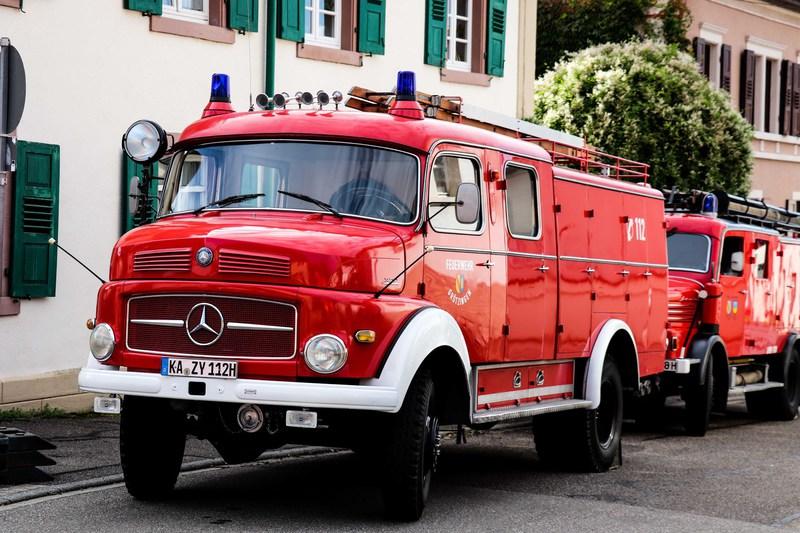 Oldtimer Feuerwehr Grötzingen